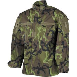 US ACU Combat RAID Woodland Camouflage Rip Stop Feldjacke Army Jacke Coat Shirt