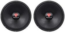 "(2) Rockville Rvw1500p8 3000w 15"" Raw DJ Subwoofers 8 Ohm Subs 70oz Magnet"