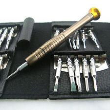 25 In 1 set Tools Kit Wallet Screwdriver for Macbook Air Smart phones Repairing