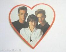 ADESIVO anni '90 /Old Sticker BEVERLY HILLS 90210 - DYLAN BRANDON BRENDA (cm 9)