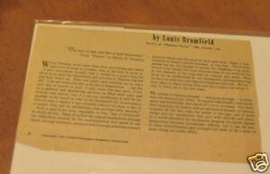 LOUIS-BROMFIELD-ARTICLE-THOREAU-QUIET-DESPERATION-1952
