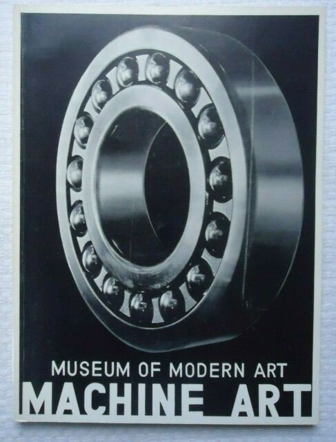 Museum of Modern Art Publications in Reprint: Machine Art by Philip Johnson (X30