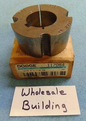"2 1//4/"" OD 1/"" HEIGHT BALDOR DODGE TAPER LOCK BUSHING 1610 X 1/"" BORE 1//4/"" KEY"