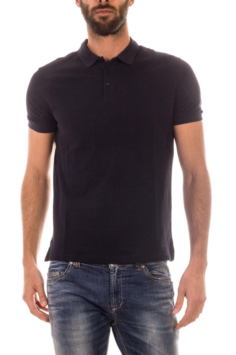 Armani Jeans AJ Polo hemd baumwolle Man Blau 8N6F126J0SZ 1579 Sz S MAKE OFFER