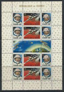 Guinee-Bloc-N-9-MNH-1965-Conquete-de-l-039-espace