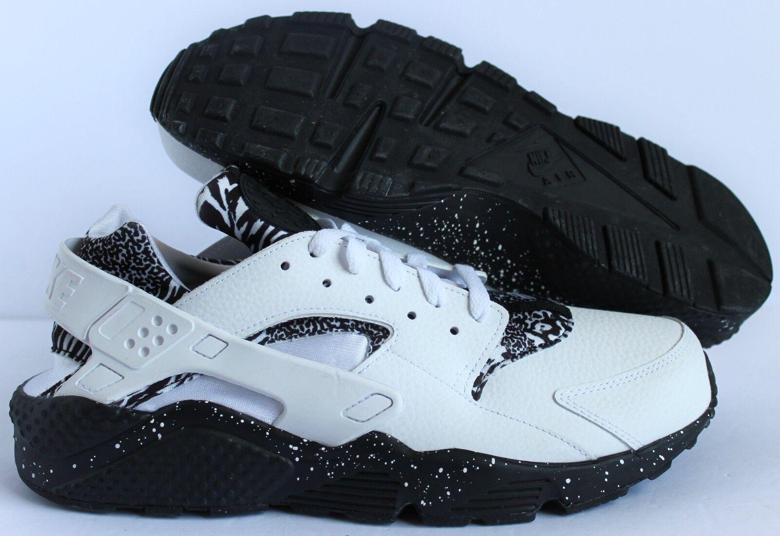 Nike ID DE LOS HOMBRES Huarache Premium ID Nike  blanco o-negro [777330-985] 9d1a9c