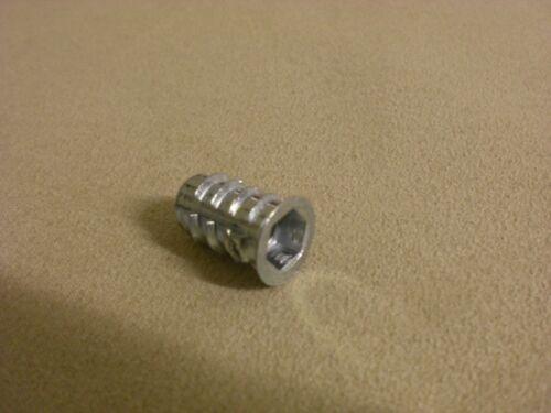 RAMPA Muffen Metal Dübel Montagedübel  METALDÜBEL Metrisch 8 M8 für Möbelfüße
