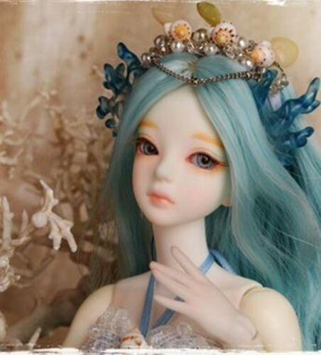 1//6 BJD Doll  SD Doll mermaid Soom Verna Eyes Free Face Make UP Human version
