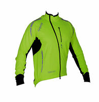 Zimco Pro Bike Jacket Cycling High Viz Jacket Winter Soft Shell Wind Jersey