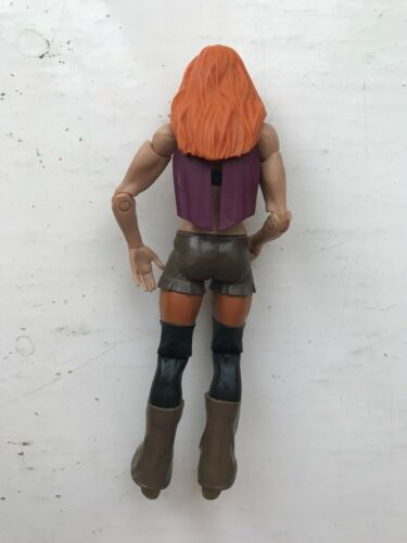 Rare Wwe Becky Lynch Diva Mattel Basic Séries 62 Figurine Lutte