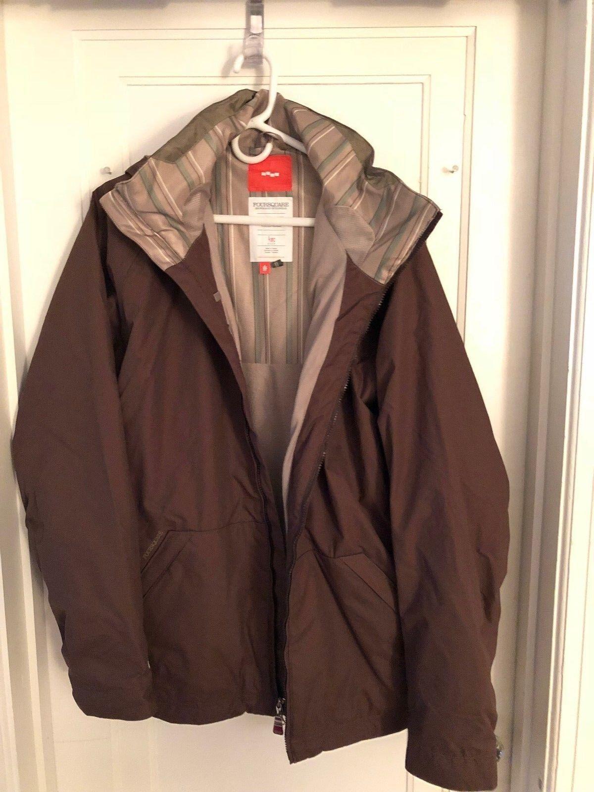 Four Square braun jacket - Large