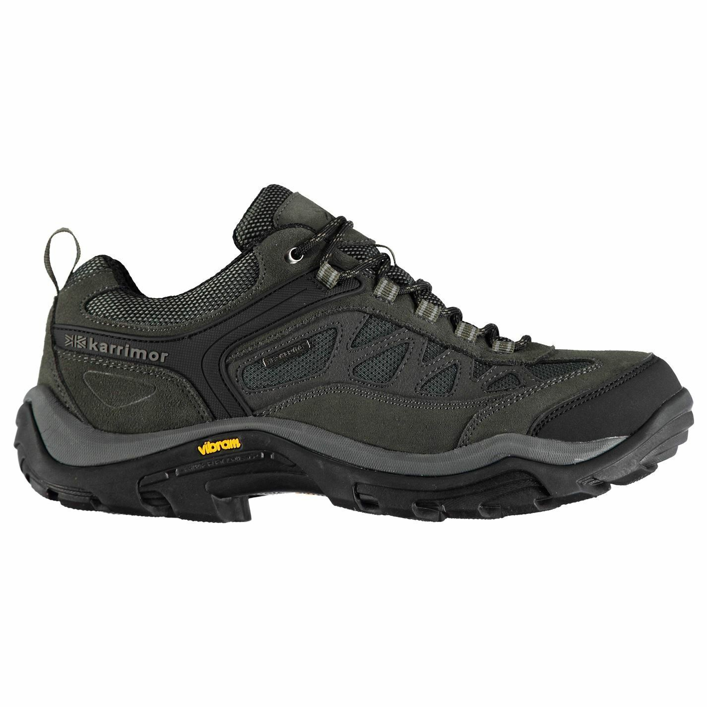Karrimor Aspen Low Walking shoes Mens Grey Hiking Boots Footwear