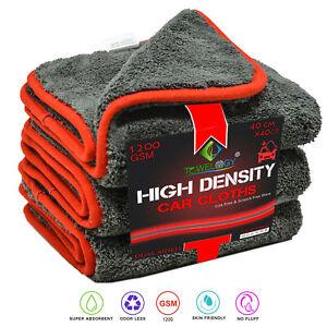 Towelogy-2x-Premium-Grade-Microfibre-Cloths-1200gsm-High-Density-Auto-Detailing