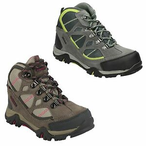 a22b2a446fa Details about BOYS GIRLS HI TEC RENEGADE TRAIL JR WATERPROOF TREKKING  WALKING HIKING BOOTS