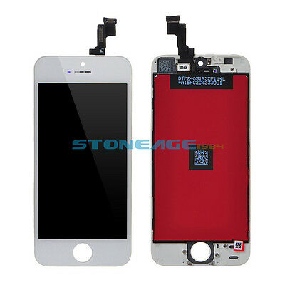Full LCD Display Touch Screen Digitizer Assembly Replacement for iPhone 5S