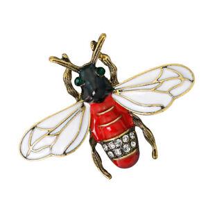 Fashion-Crystal-Rhinestone-Insect-Honeybee-Brooch-Pin-Brooch-Wedding-Jewelry
