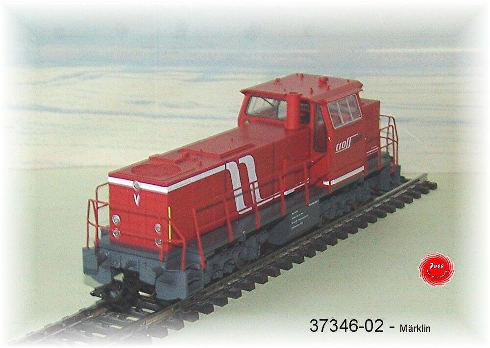 Marklin 37346-02 37346-02 37346-02 Diesel MAK G 1202 Crossrail MFX  neu in OVP   7cb945