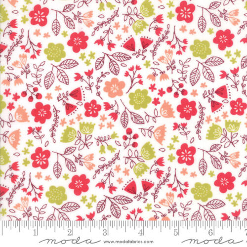 1//2 yd 20524 11 MODA Fabric ~ JUST ANOTHER WALK IN THE WOODS ~ Stacy Iest Hsu