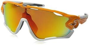 78ff84f36f Oakley Jawbreaker Sunglasses with Atomic Orange Frame and Fire ...
