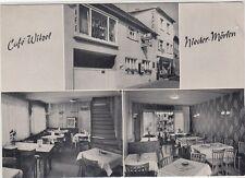 Bassa-Mörlen in Bad Nauheim CAFE Witzel ca 1960