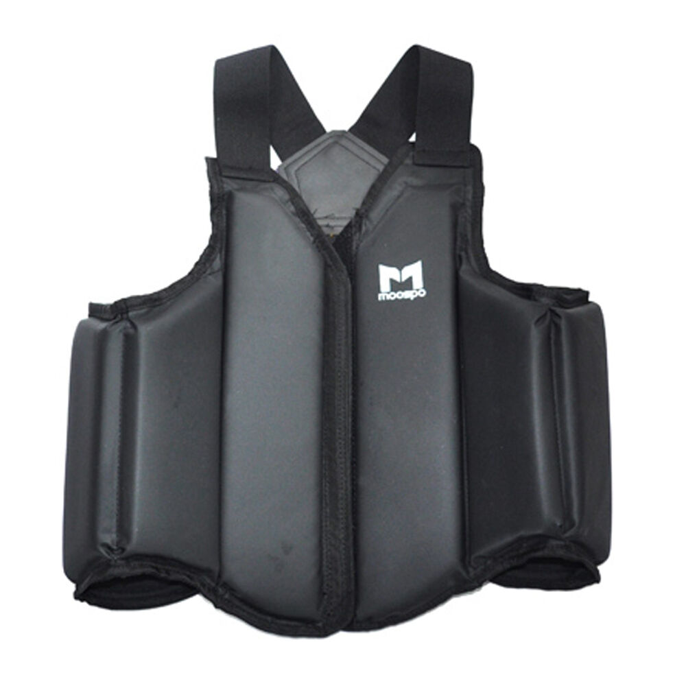 Moospo Predective Chest Guard Taekwondo TKD  MMA WTF Predector Gear Lite Weight  take up to 70% off