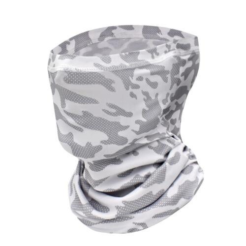 Men Women Face Scarf Balaclava Neck Gaiter Bandana Breathable Camouflage