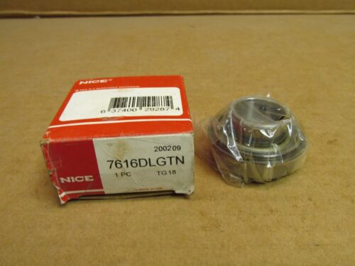"NIB NICE 7616DLGTN BEARING INSERT w SNAP RING 7616 DLGTN 1/"" ID 2/"" OD MADE IN USA"