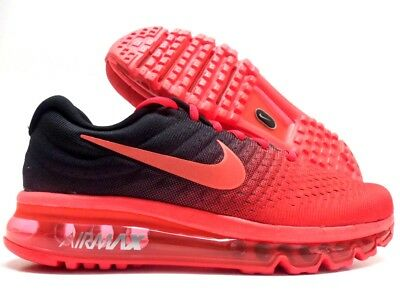 NIKE AIR MAX 2017 BRIGHT CRIMSONTOTAL CRIMSON SIZE MEN'S 15 [849559 600] 293002538354 | eBay