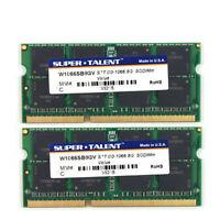 2x 8gb 16gb Ddr3 1067 Mhz Ram Speicher For Macbook Pro 7,1 (2010) Pc3-8500s