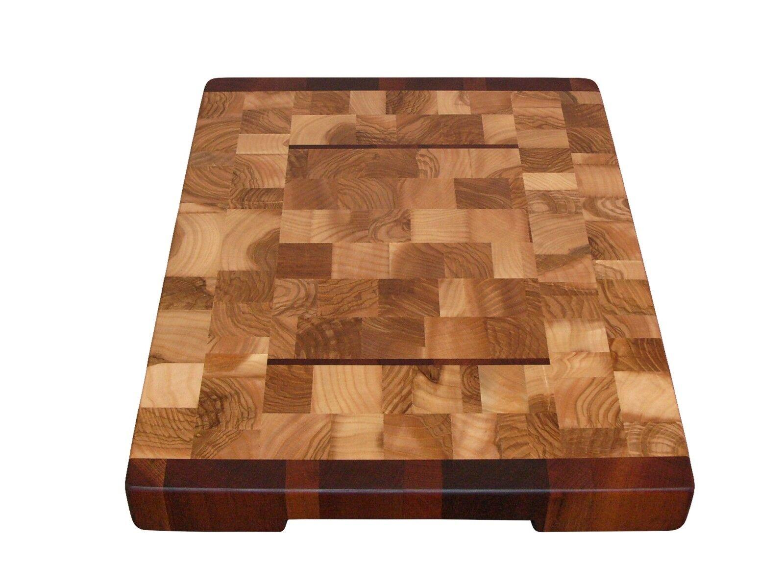 En bois, fait main, planche à découper, Cheese Board, avec pieds, cadeau idéal, cuisine