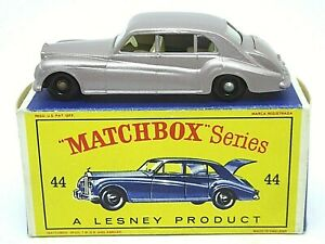 Matchbox-Lesney-No-44b-Rolls-Royce-Phantom-V-en-tipo-034-D2-039-serie-039-nuevo-modelo-039-Caja