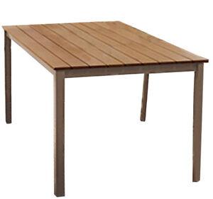 Alu Gartentisch Esstisch Tisch Wohntisch 150 X 90 Cm B Ware 2wahl