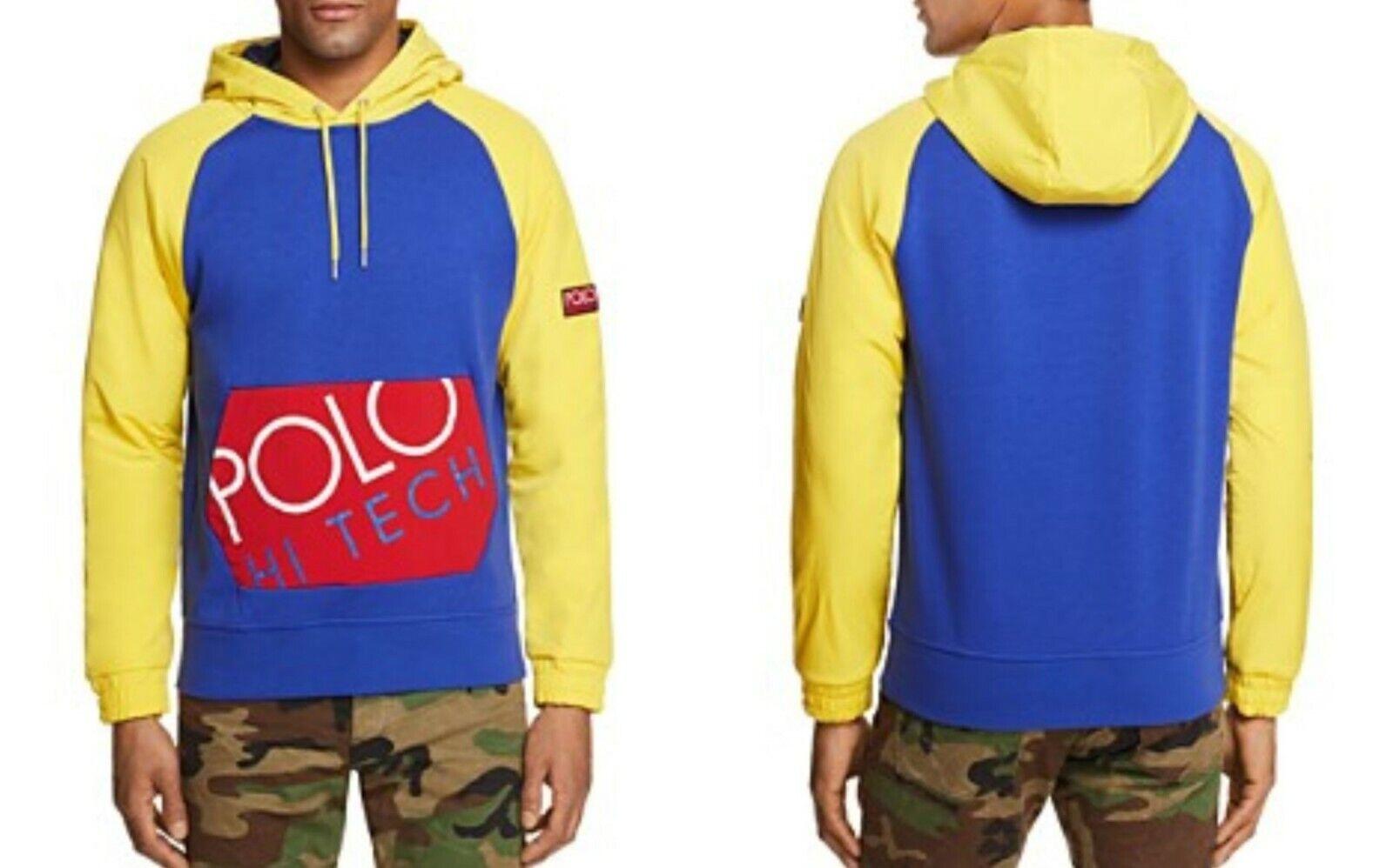 timeless design 72aee 72d02 Polo Ralph Lauren Tech Sweatshirt Vintage CP93 Stadium92 ...