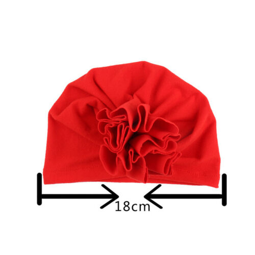 Newborn Toddler Kids Baby Boy Girl Infant Cotton Soft Warm Turban Hat Beanie Cap