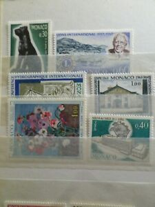Monaco-Pack-Af-Stamps-New-VF-MNH-Stamps