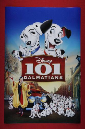 Disney 101 Dalmatians Puppy Dog Movie Picture Poster Children 24X36 New   DALM