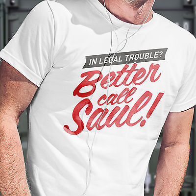 2019 Neuestes Design Breaking Bad T-shirt - Better Call Saul! Free Postage Dispatch Within 1 Day
