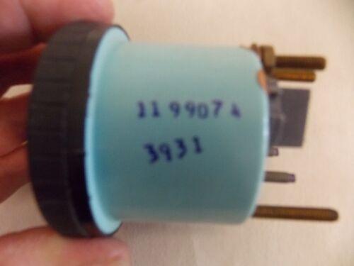 TELEFLEX OIL PRESSURE GAUGE 1199074 BLACK FACE /& BEZEL MARINE BOAT