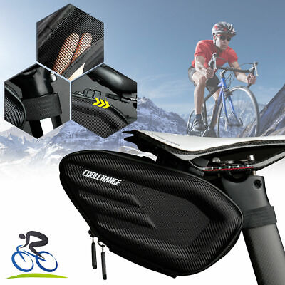 New Nylon Cycling MTB Mountain Bike Bag Seat Tail Rear Pouch Road Saddle Bag