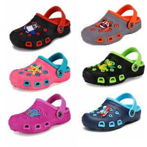 Sandali-Sandalo-Bambina-Bambino-Pantofole-Clogs-Infradito-Ciabatte-Estive-Scarpe