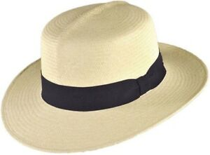 b62f058e8 Details about PANAMA HAT CO OF THE PACIFIC OPTIOMO 6 7/8 Small 55cm SOFT  MONTE CRISTI STRAW