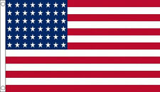 5' x 3' US 48 Star Flag 1912-59 USA America Stars and Stripes Banner