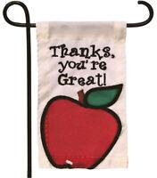 Mini Garden Flag For Flower Pot - Thanks, You're Great