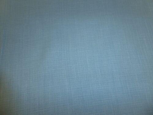 Designer Linen Style Weave Upholstery Curtain Fabric AQUA BLUE M/&S VEELA