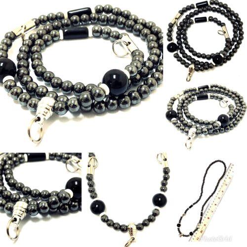 Antiques Necklace Black Leklai Thai Style 3 Hook Amulet Buddha Talisman Handmade