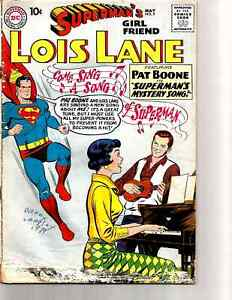 SUPERMAN-039-S-GIRL-Friend-LOIS-LANE-9-DC-1959-Pat-Boone-Cover