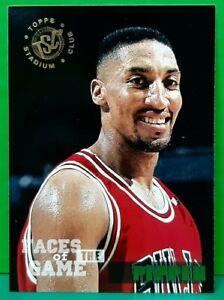 Scottie Pippen subset card 1994-95 Topps Stadium Club #356