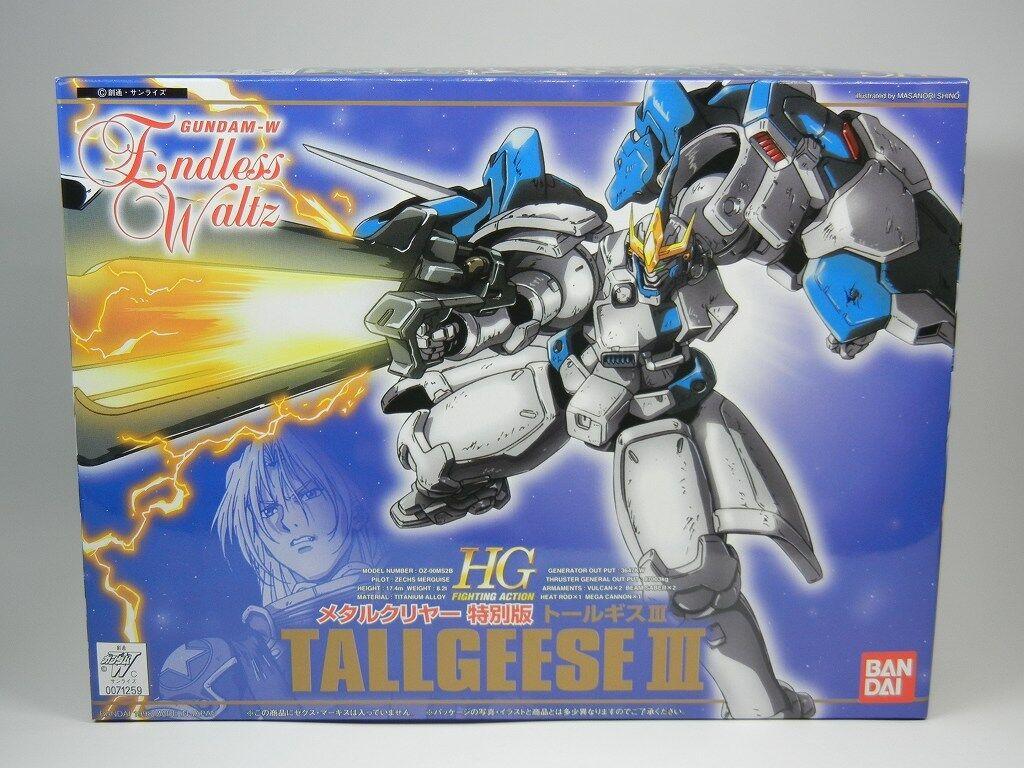 Gundam Wing Endless Waltz HG 1 144  TALLGEESE Ⅲ  Metal Clear Ver. BANDAI