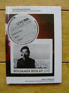 2 DVD   Benjamin Biolay   Live   NEU + VERSCHWEISST    Le Collector