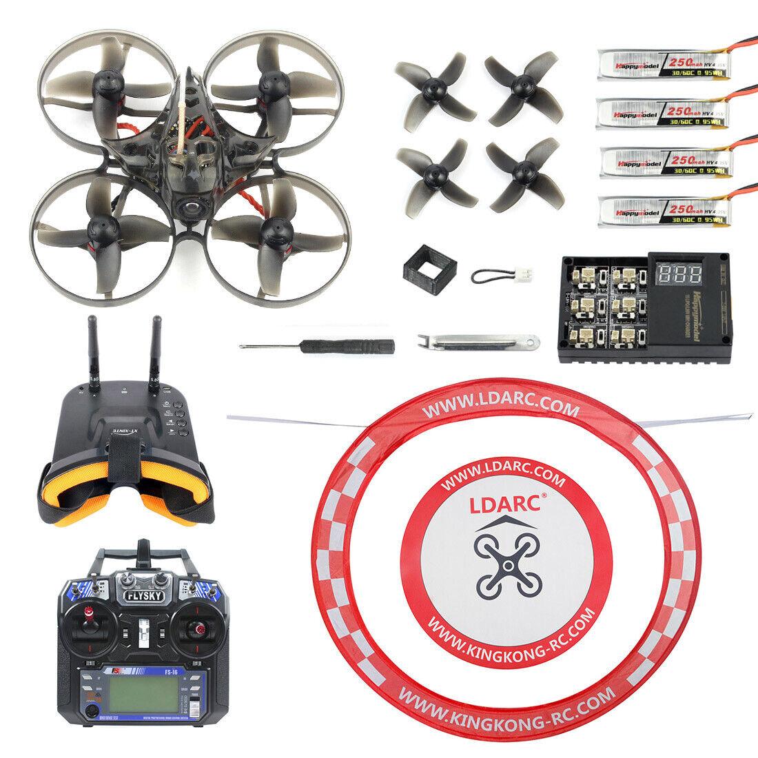 Happymodel Mobula7 V2Crazybee F3 Pro OSD 2S Whoop FPV Racing Drone Mobula 7